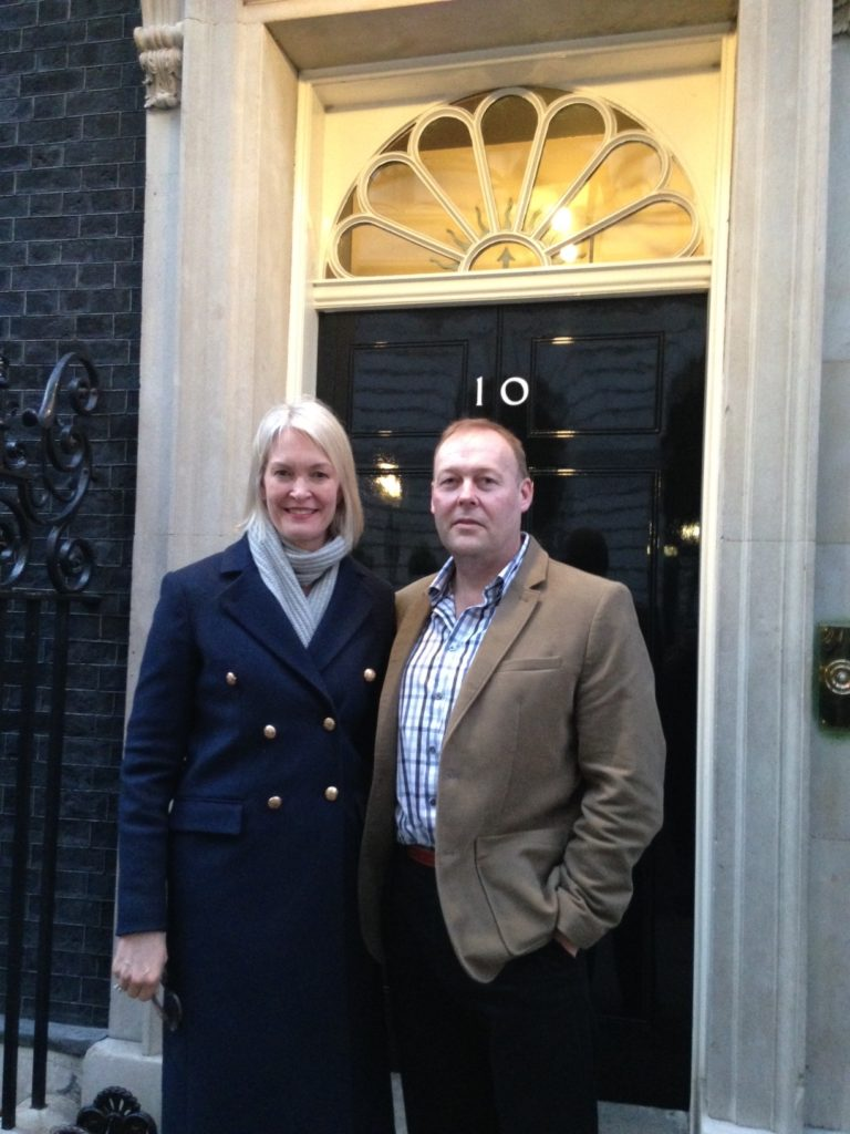 Warren at Downing Street